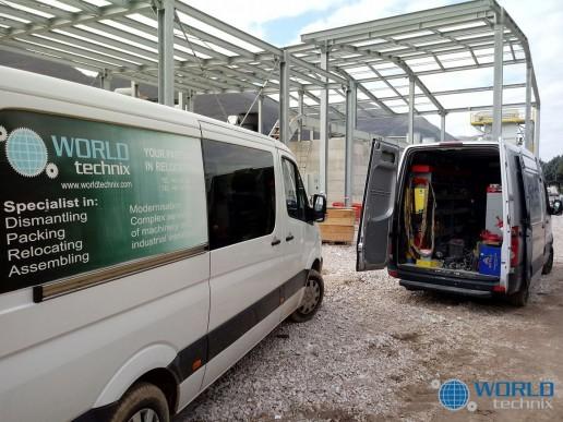 demontaz montaz relokacja fabryki wroclaw polska