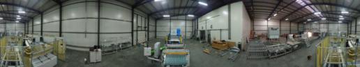 Montaż maszyn produkcji paneli fotovoltaicznych 04