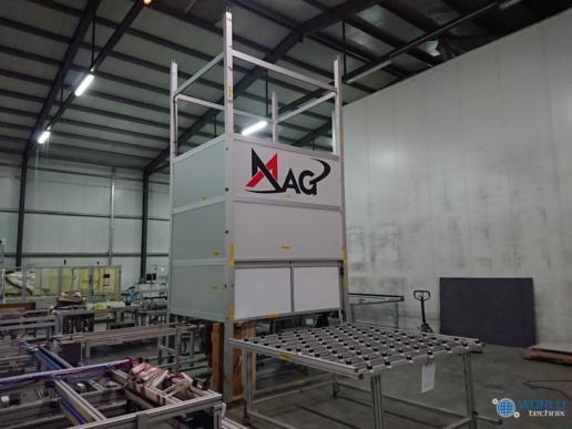 Montaż maszyn produkcji paneli fotovoltaicznych 07