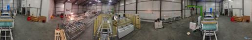 Montaż maszyn produkcji paneli fotovoltaicznych 08