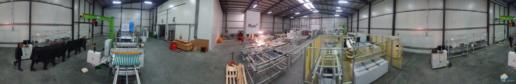 Montaż maszyn produkcji paneli fotovoltaicznych 09