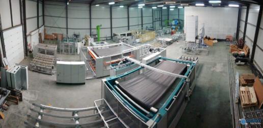 Montaż maszyn produkcji paneli fotovoltaicznych 11