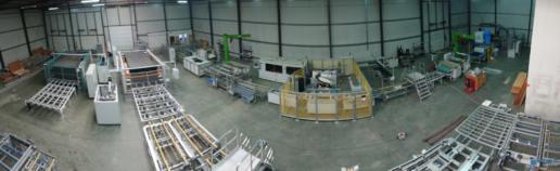 Montaż maszyn produkcji paneli fotovoltaicznych 12