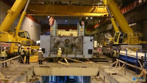 Relokacja prasy hydraulicznej francja