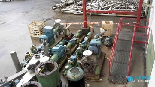demontaż maszyn celulozowni