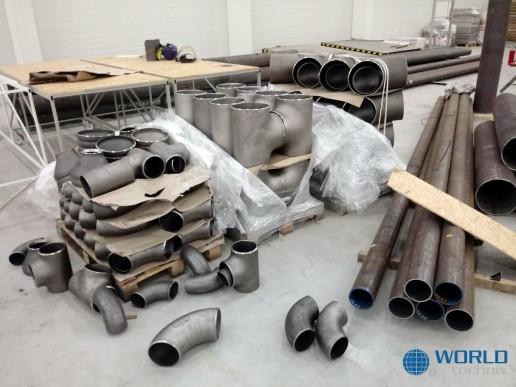 montaż maszyn suszarni przemysłowej