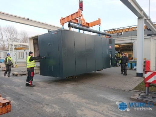 Relokacja maszyny DMG DMF 260