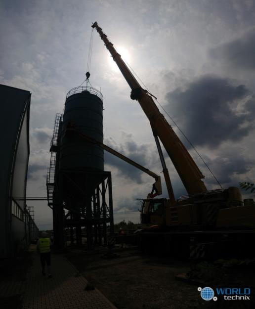 Relokacja maszyn fabryki płyt celulozowo - cementowych
