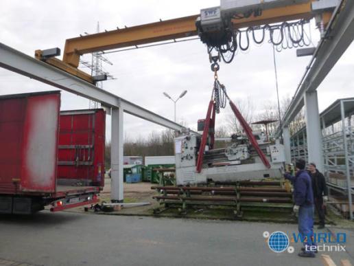 Relokacja maszyn Dinslaken