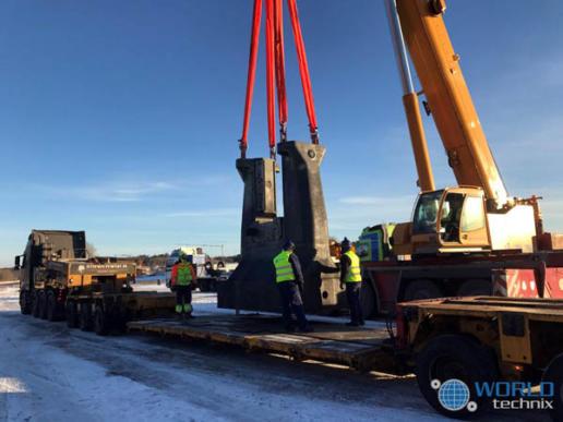demontaż i relokacja maszyn do Norwegii